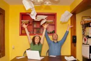 отсутствие долгов и штрафов